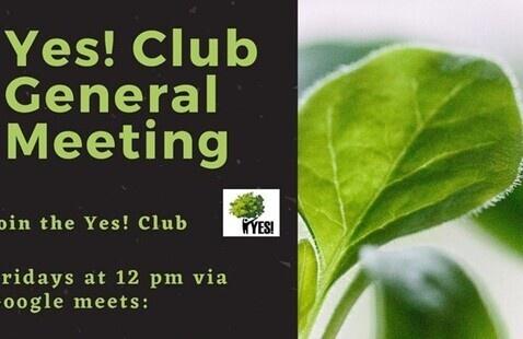 Yes! Club General Meeting