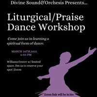Collaboration Workshop: Fredonia's Divine Sound  X Orchesis Dance Company