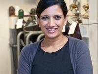 Prof. Eranthie Weerapana smiling