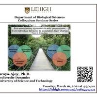 Biological Sciences Colloquium Seminar