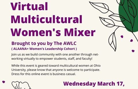 Virtual Multicultural Women's Mixer