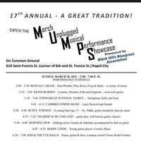 17th Annual Unplugged Music Performance Showcase