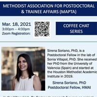 MAPTA Presents: March 2021 Coffee Chat