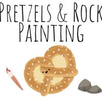 Pretzels & Rock Painting