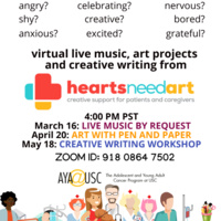 USC Adolescent & Young Adult Cancer Program Music Meet Up