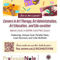 Careers in Art Therapy, Art Administration, Art Education, and Edu-curation