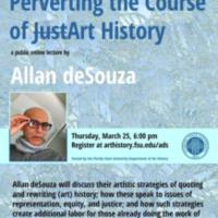 Artist Lecture: Allan deSouza