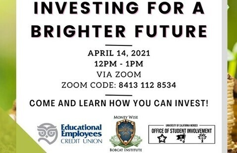 MoneyWise Bobcat Institute Series:  Investing for a Brighter Future