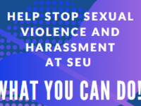 Help Stop Sexual Violence and Harassment at SEU-What YOU Can Do!
