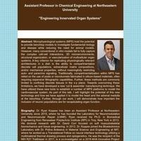 Bioengineering Seminar Series:  Ryan Koppes