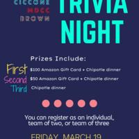 trivia night 3/19 7pm