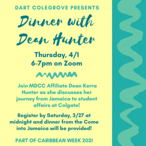 Dinner with Dean Hunter