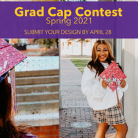 Grad Cap Decorating Contest Spring 2021