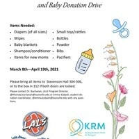 donation flyer