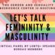 Students Speak: Masculinity and Femininity