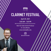 2021 Virtual TCU Clarinet Festival