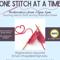 One Stitch at a Time | Health Advancement