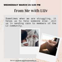 from Me with LUv | Wellness Week