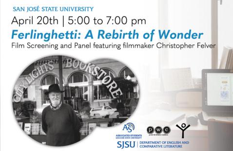 Ferlinghetti: A Rebirth of Wonder - Film and Panel Graphic