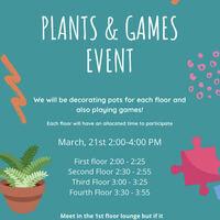 Lane Hall Plants and Games