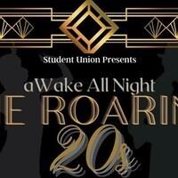 The Roaring 20s: aWake all night Custom Street Signs