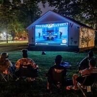 Campus Garden Spring Movie Kickoff