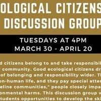 Ecological Citizenship Discussion Group