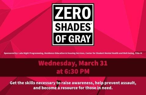 Zero Shades of Gray