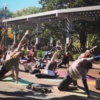 CDU Presents: Yoga on Landis!