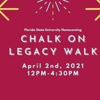 Chalk on Legacy Walk