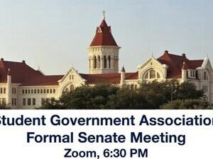SGA Formal Senate Meeting (Spring 2021) (Cancelled)