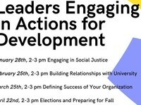 Leaders Engaging in Actions for Development