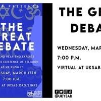 SAB Presents: The Great Debate