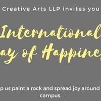 International Day of Happiness Rock Painting Event