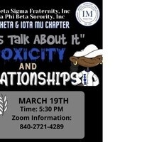 Let's Talk About It 'Toxicity and Relationships'