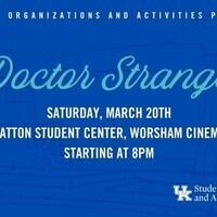 SOA's Cinema Series: Doctor Strange