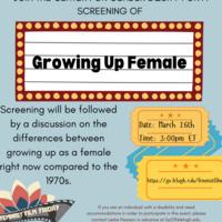 Feminist Film Friday   Wellness Week