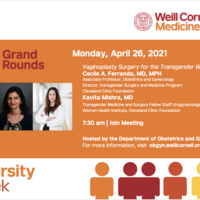 Diversity Week Obstetrics and Gynecology Grand Rounds