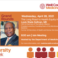 Diversity Week - The Long Road to Health Equity in America