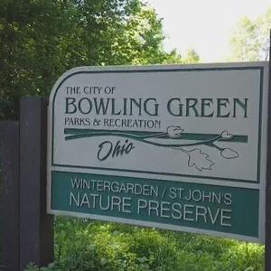 Wintergarden nature preserve sign