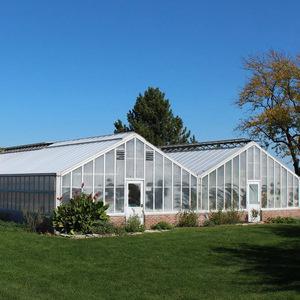 BGSU Greenhouse exterior