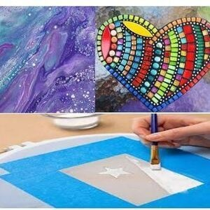 Art at Belmont- Making Mosiacs for all ages