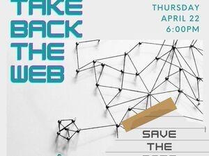 TurnAround's Take Back the Web graphic