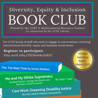 DEI Book Club (Multicultural and LGBT Resource Center)