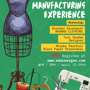 Clothing Manufacturing Experience Workshop