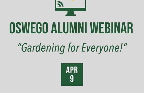 """Gardening for Everyone!"" Webinar"