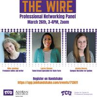 Professional Networking Panel