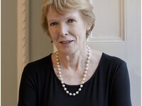 color photograph of Margaret MacMillan by Ander McIntyre