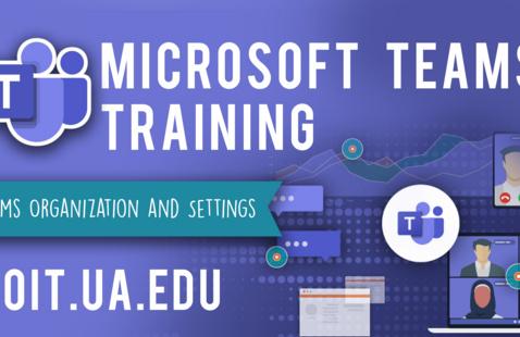 Microsoft Teams Organization and Settings  Virtual Workshop