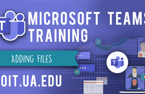 Adding Files in Microsoft  Teams Virtual Workshop
